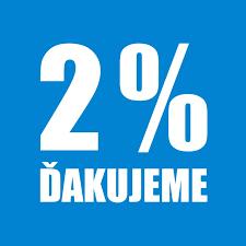 2% z dane – tlačivá
